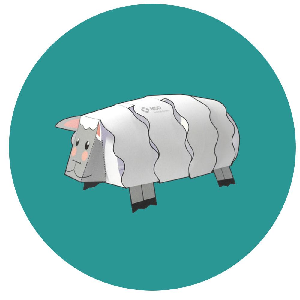 Navidad pequeñas acciones oveja